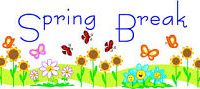 School will be closed from Monday, March 16 to Friday, March 27 for spring break. School reopens on Monday, March 30. Have a safe and wonderful break!