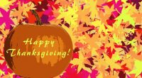 School will be closed on Monday, October 14 for Thanksgiving. Happy Thanksgiving!
